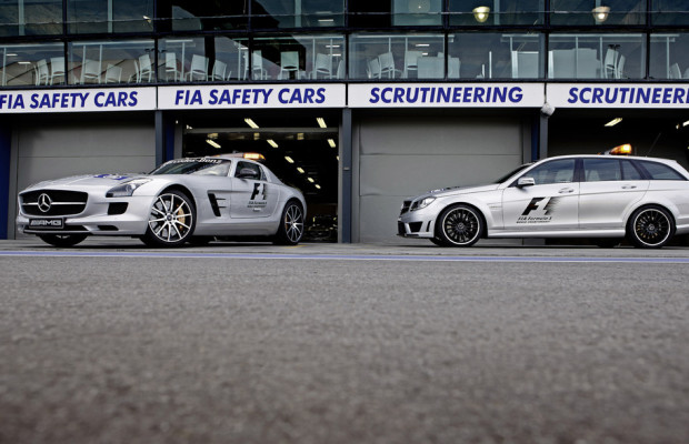 Mercedes-Benz AMG stellt F1 Safety Car und Medical Car