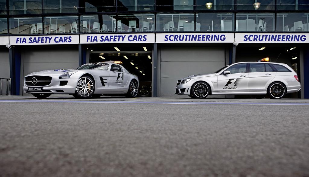 Mercedes-Benz AMG stellt F1 Safety Car und Medical Car