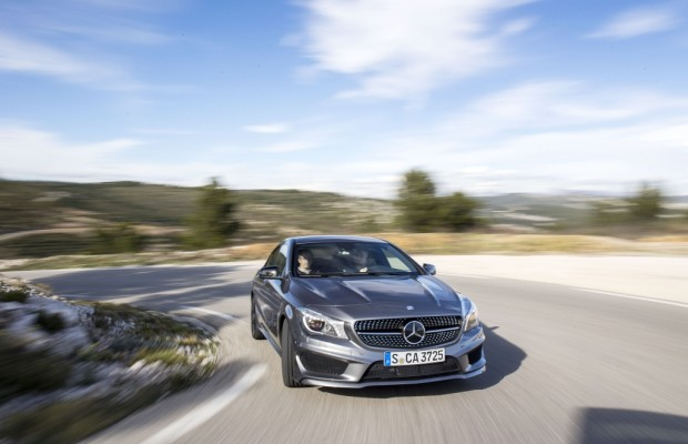Mercedes-Benz CLA Coupé: Jungbrunnen und Einstiegs-Stern