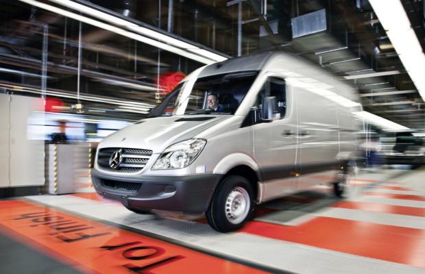 Mercedes-Benz Vans verbucht drittbestes Ergebnis