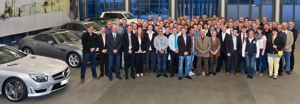 Mercedes-Benz-Werk Bremen feiert 40 Freisprechungen