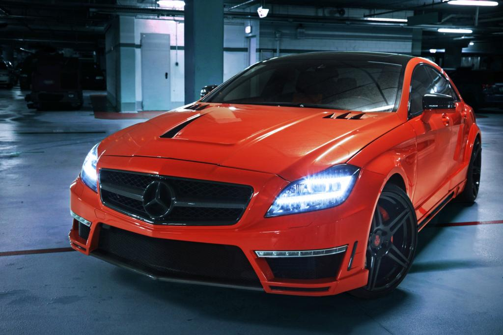 Mercedes CLS 63 AMG Tuning