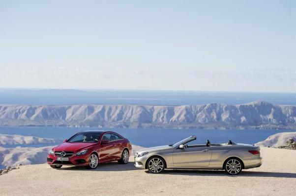 Mercedes E-Klasse Cabrio und Coupe - Neuer Look und neue Benziner