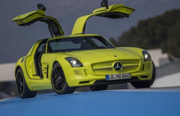 Mercedes SLS electric drive - Vorsicht, Hochspannung