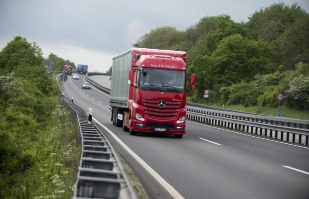 Mercedes mit Erdgas-Diesel-Antrieb