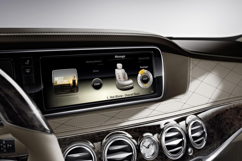 Mercedes setzt bei der künftigen S-Klasse auf maximalen Komfort und Wellness