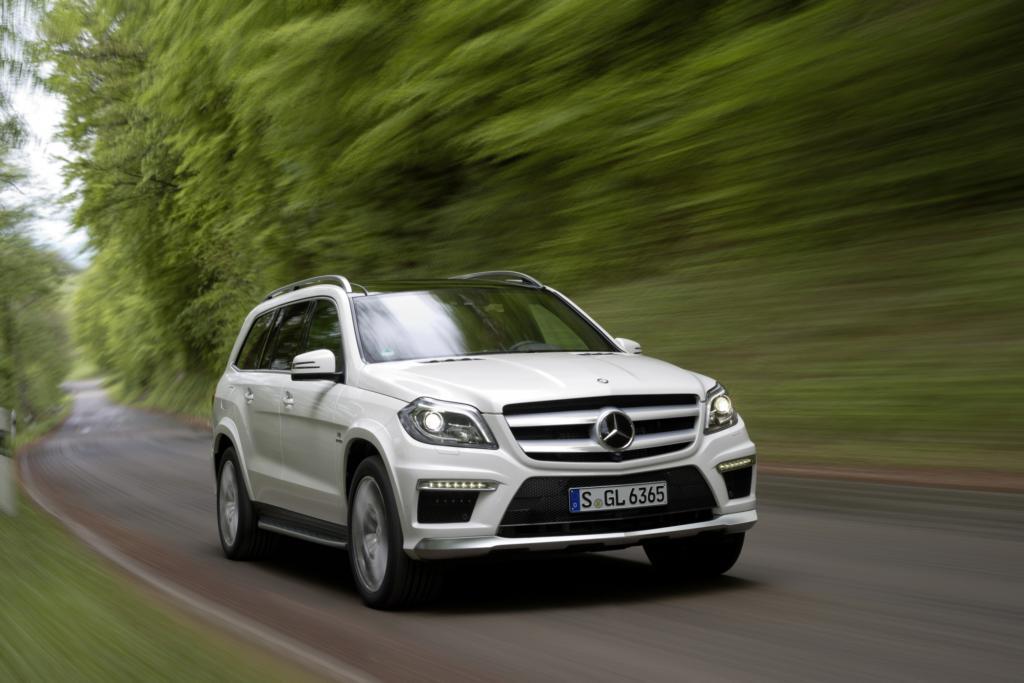 Mercedes verpasst dem GL ein AMG-Tuning