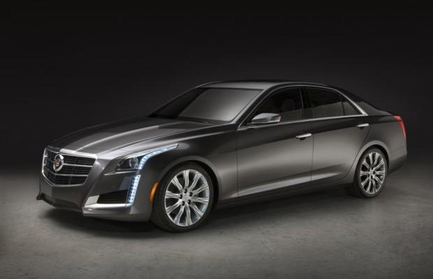 New York 2013: Cadillac CTS - Attacke auf Mercedes und Co.
