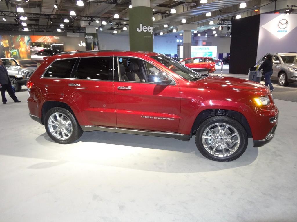 New York 2013: Jepp Cherokee will Maß aller SUV-Dinge sein