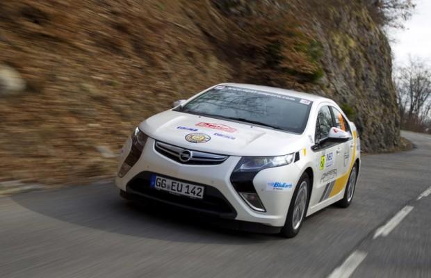 Opel Ampera: Titelverteidigung bei der Monte im Visier