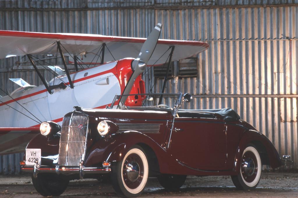 Opel zeigt klassische Cabriolets auf der Techno Classica