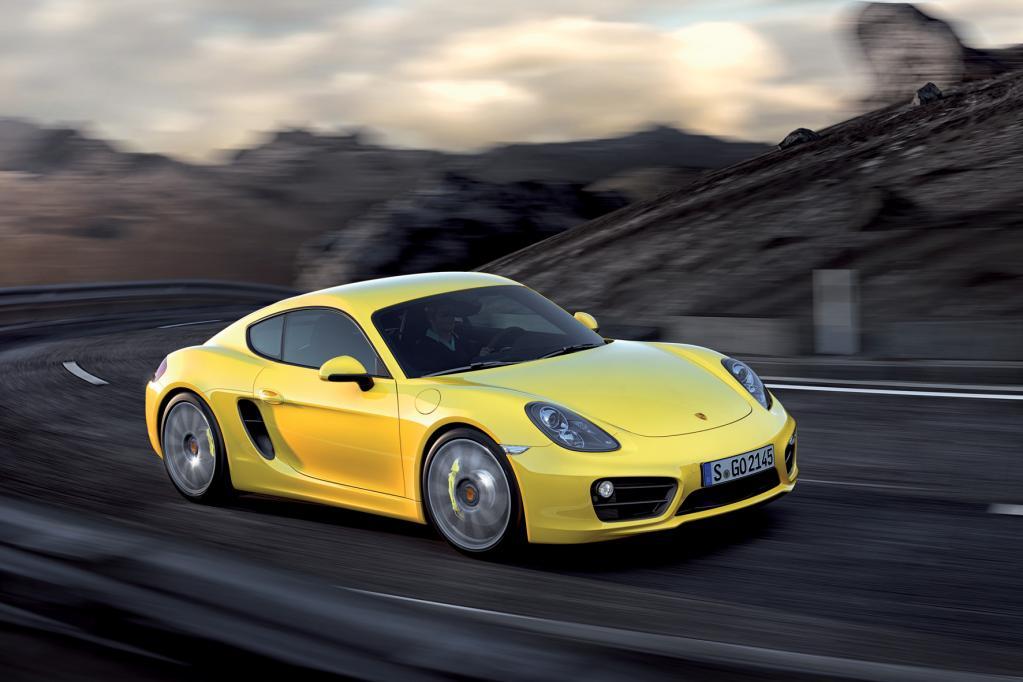 Porsche Cayman: Vorsprung durch Technik