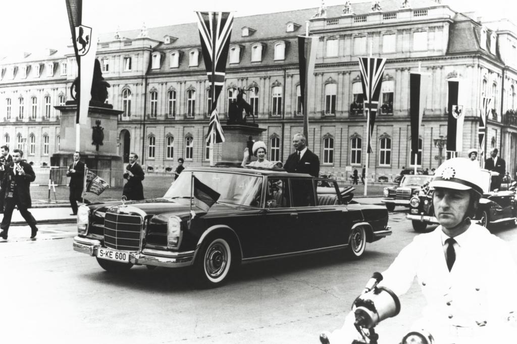 Pullman Landaulet mit Staatsbesuch 1966
