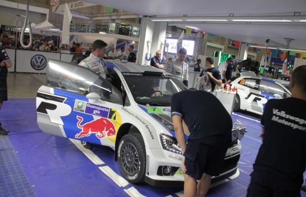 Rallye Mexiko: VW nach verpatzter Qualifilkation wieder vorn