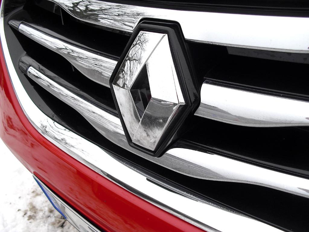 Renault Koleos: Der Markenrhombus sitzt vorn mittig im Kühlergrill.