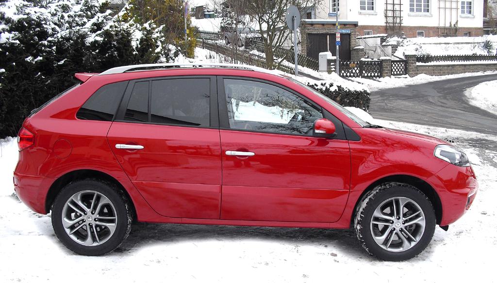 Renault Koleos: Und so sieht das kompakte SUV-Modell von der Seite aus.