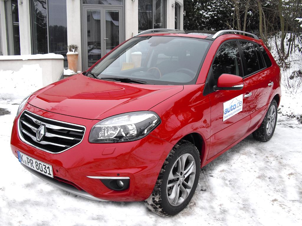 Renault Koleos, hier als Allraddiesel mit 127/173 kW/PS.