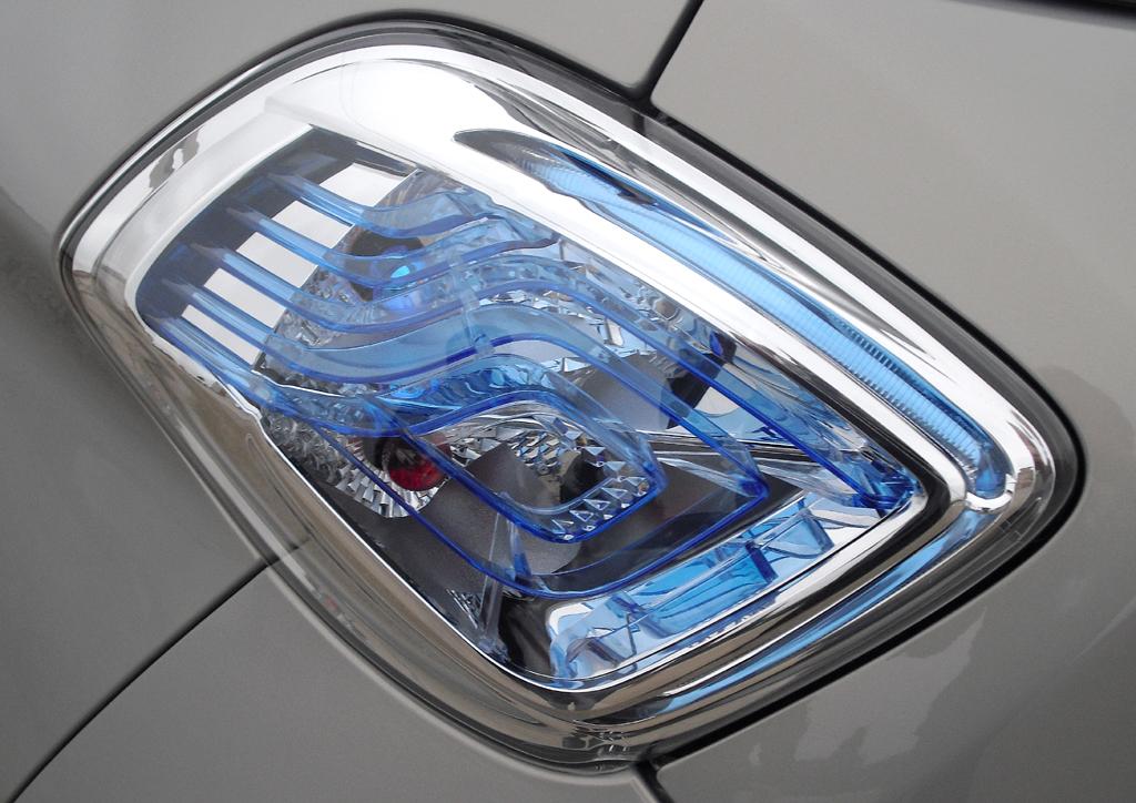 Renault Zoe: Moderne Leuchteinheit hinten.