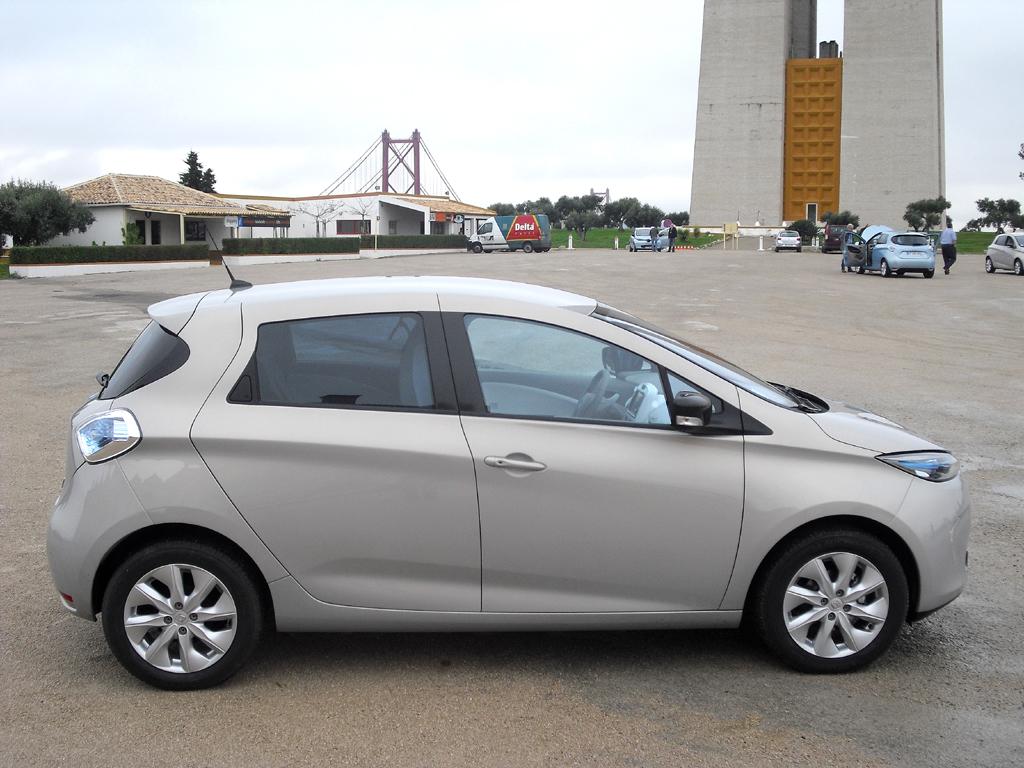 Renault Zoe: Und so sieht der kleine Fünftürer von der Seite aus.