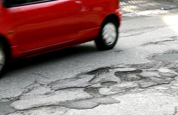 Straßenzustand: Miserabel bis schlecht
