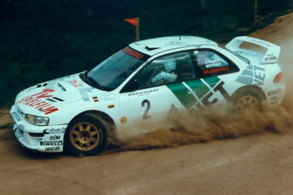 Subaru Impreza WRC Deutsche Rallyemeisterschaft 1998