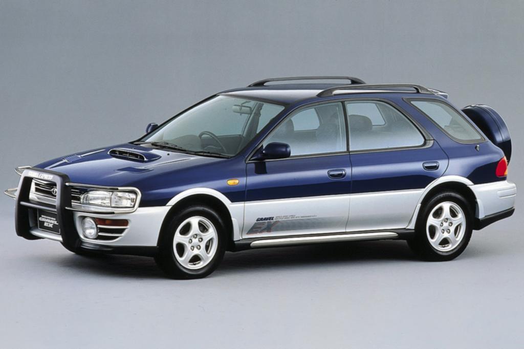 Subaru Impreza Wagon Gravel EX 1993