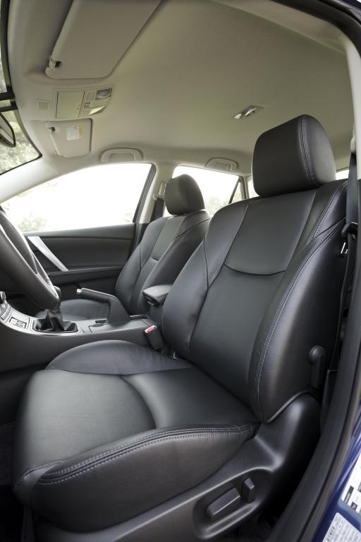 Test Mazda3 2.2 MZR-CD Sports-Line: Solide aber durstig
