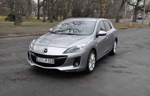 Test Mazda3 2.2 MZR-CD Sports-Line: Solide aber durstig