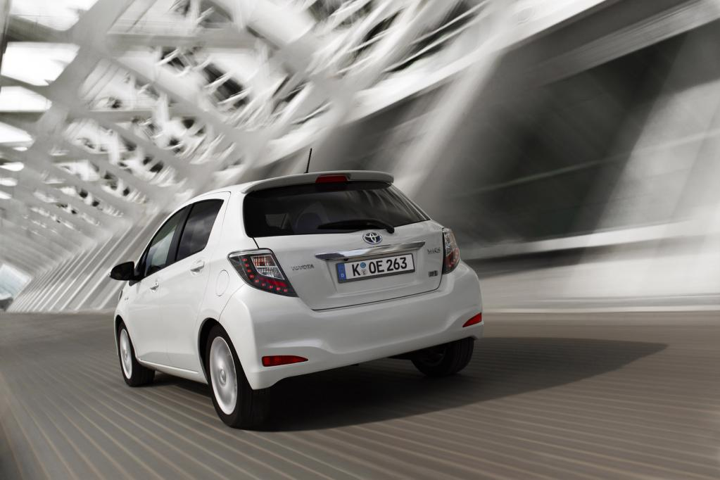 Toyota Yaris Hybrid: Aus Freude am Sparen