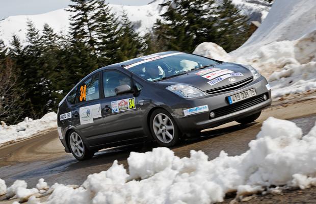 Toyota dominiert auf der 14. Rallye Monte-Carlo für alternative Antriebe