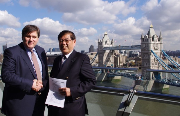 Toyota tritt Initiative für emissionsarmes London bei