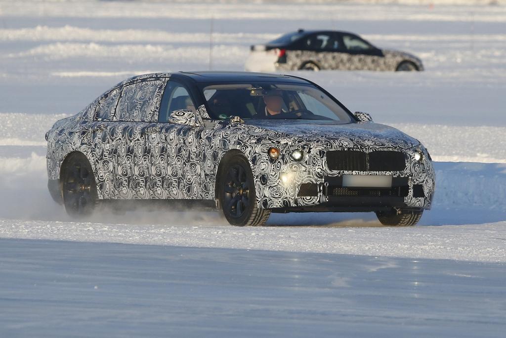 Update: Erwischt: Erlkönig BMW  7er – 2016er Flaggschiff schon heute