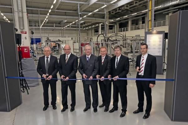 VW-Konzern erffnet Batteriesystemfertigung fr den E-Up