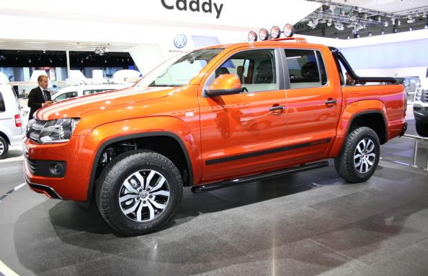Volkswagen setzte vier Prozent mehr Nutzfahrzeuge ab