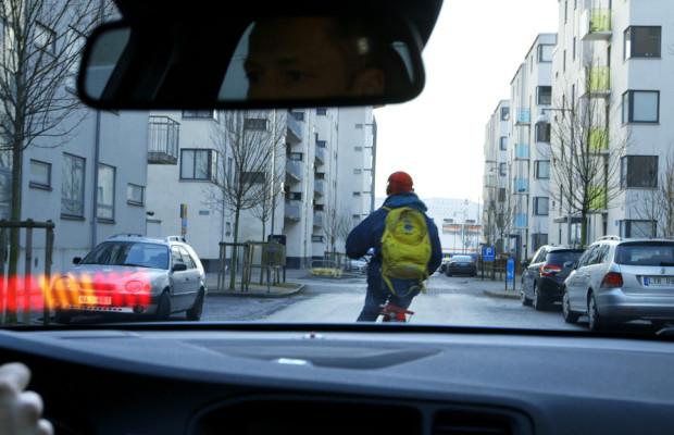 Volvo bietet Notbremsassistenten mit Radfahrer-Erkennung