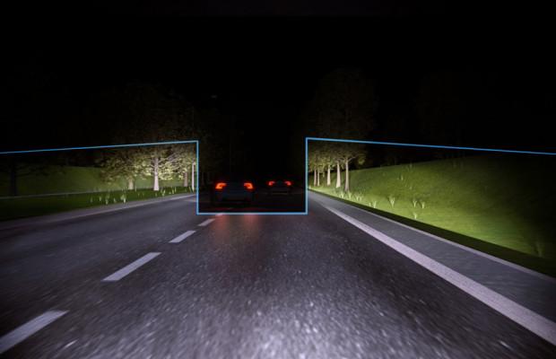 Volvo macht das Fahren bei Nacht sicherer
