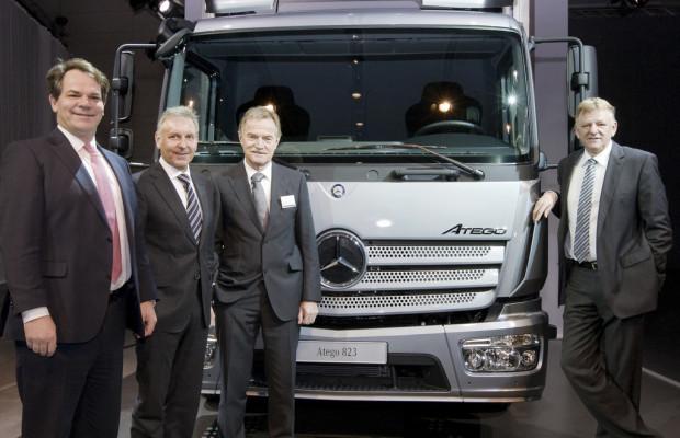 Vorstellung des neuen Mercedes-Benz Atego
