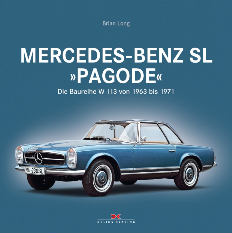 auto.de-Buchvorstellung: Mercedes-Benz SL »Pagode« – Die Baureihe W 113 von 1963 bis 1971