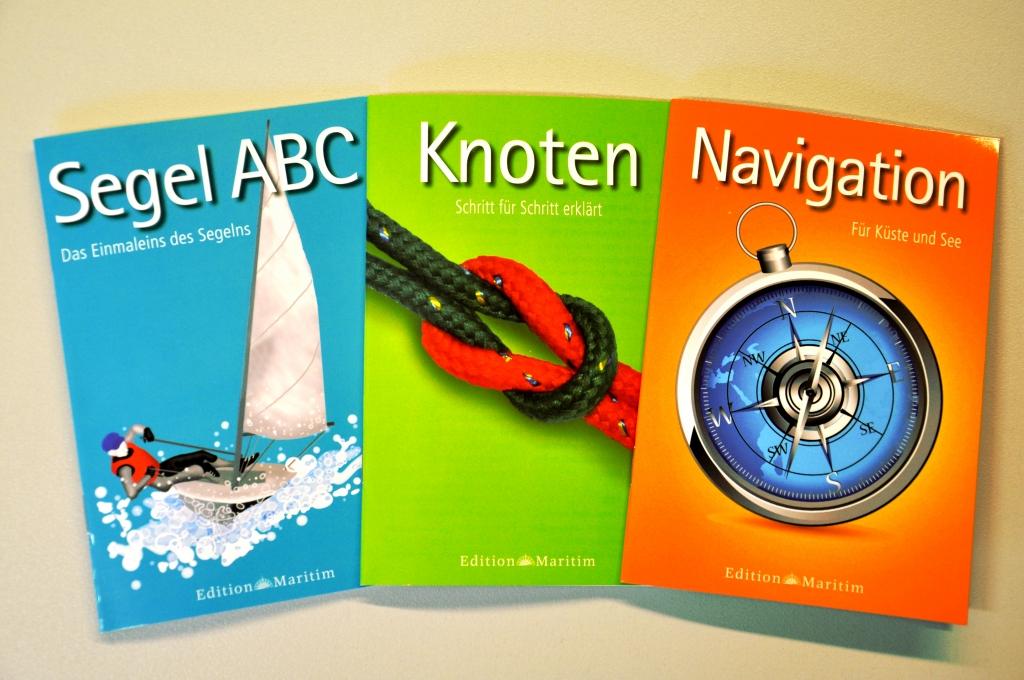 auto.de-Buchvorstellung: Segel ABC, Knoten, Navigation