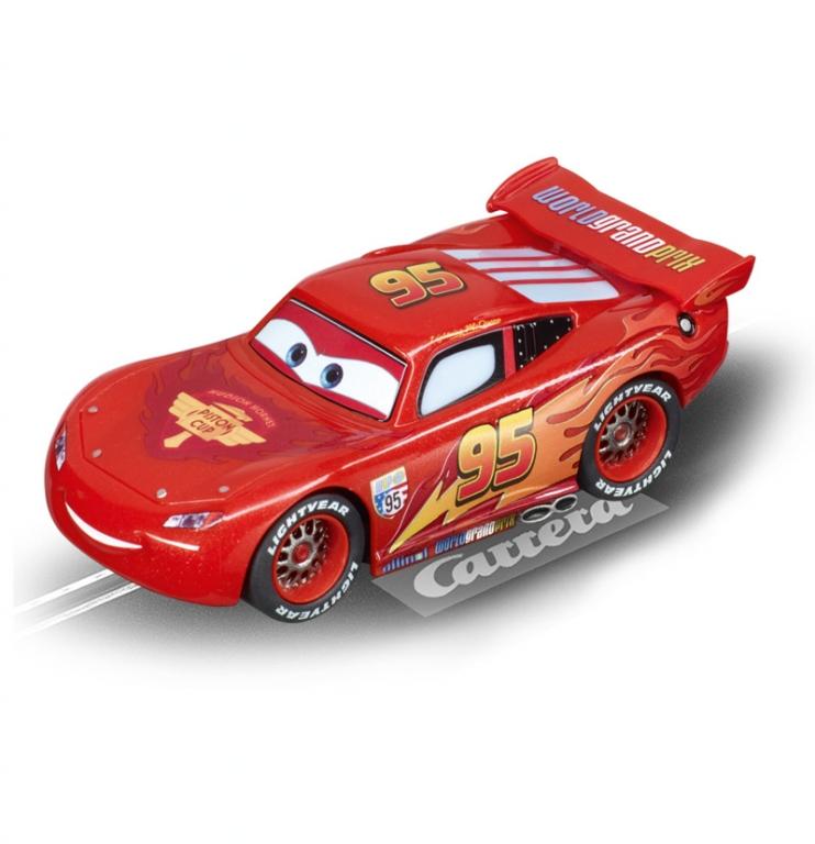 auto.de-Ostergewinnspiel: Carrera Evolution »Disney/Pixar Cars World Grand Prix« Rennbahnstrecke