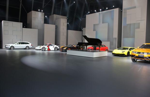Shanghai 2013: Volkswagen liebt die Show