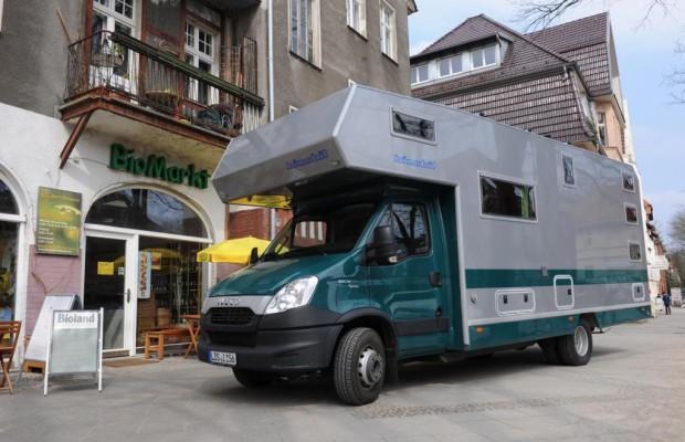 Öko-Reisemobil: Fahren und Kochen mit Gas
