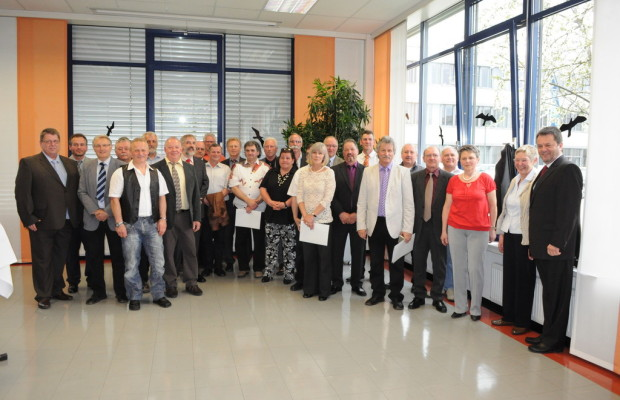 155 Jubilare bei EvoBus in Neu-Ulm geehrt
