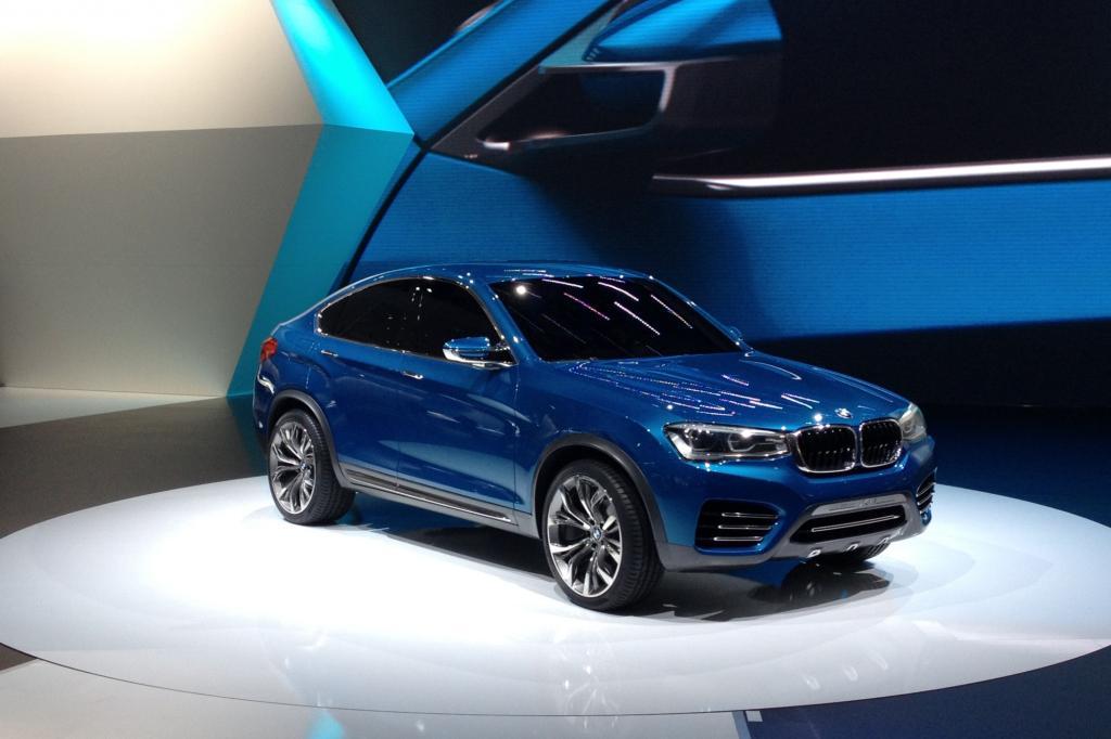 2014 wird BMW den dann in Spartanburg/South Carolina gebauten X4 ins Rennen schicken