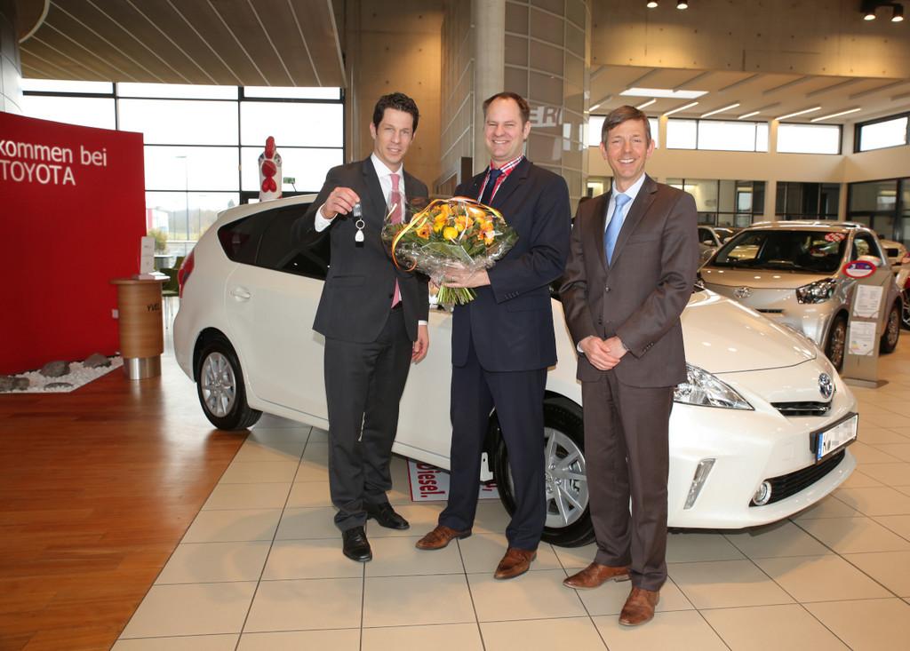 ADAC Nordrhein fährt Toyota Prius+