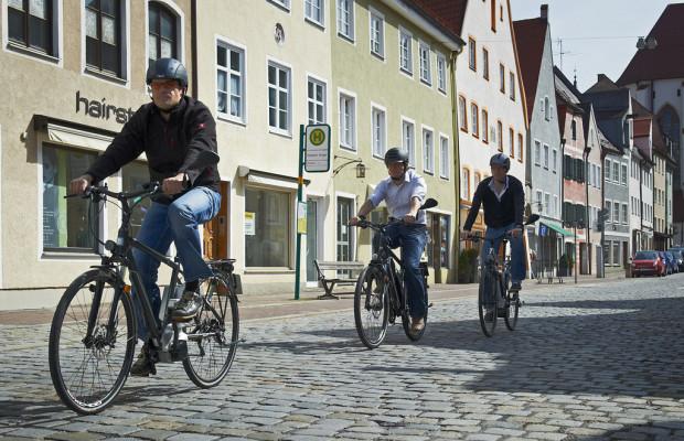 Auch Elektrofahrräder müssen versichert werden