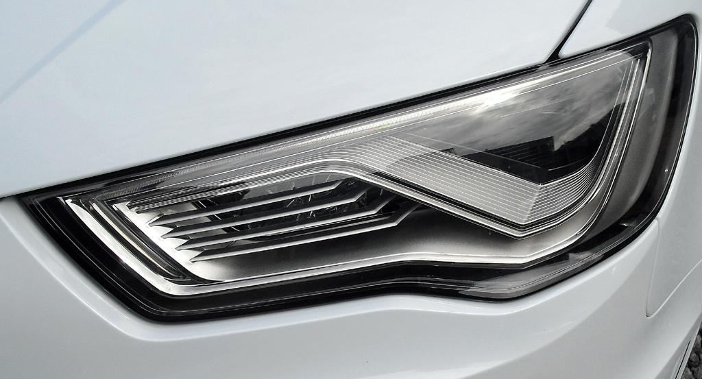 Audi S3: Moderne Leuchteinheit vorn.