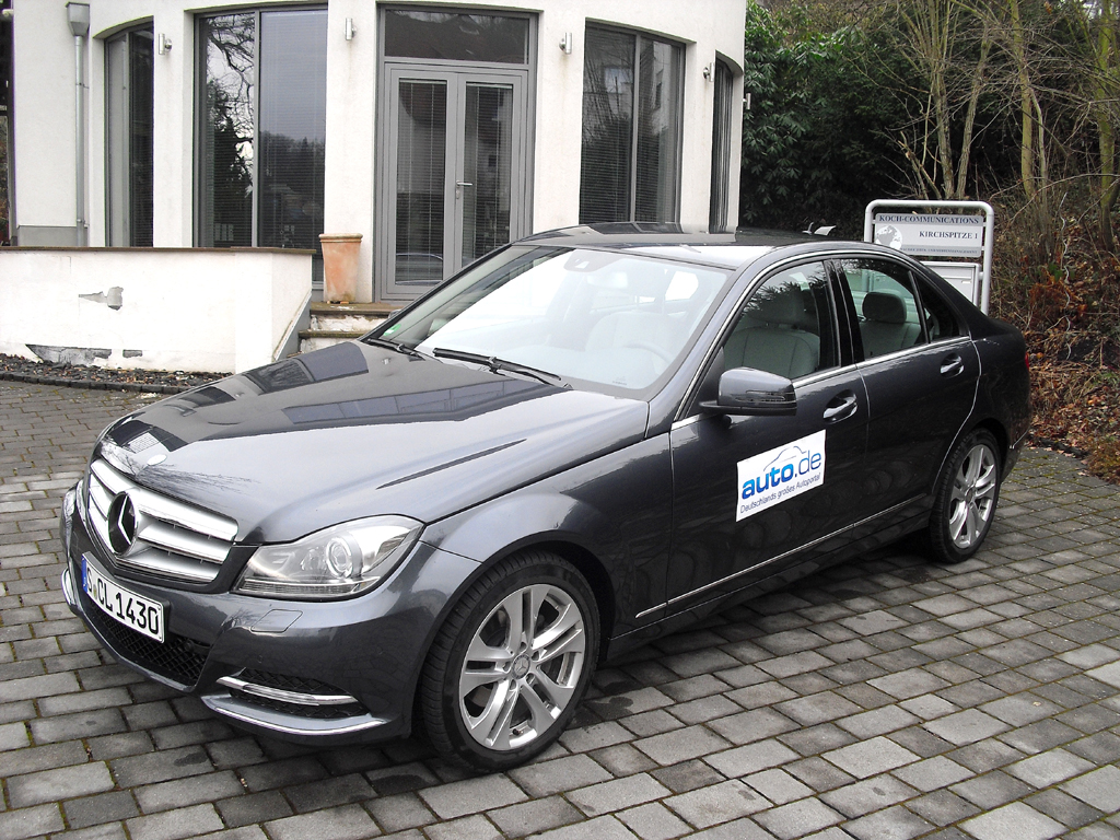 Auto im Alltag: Mercedes C-Klasse