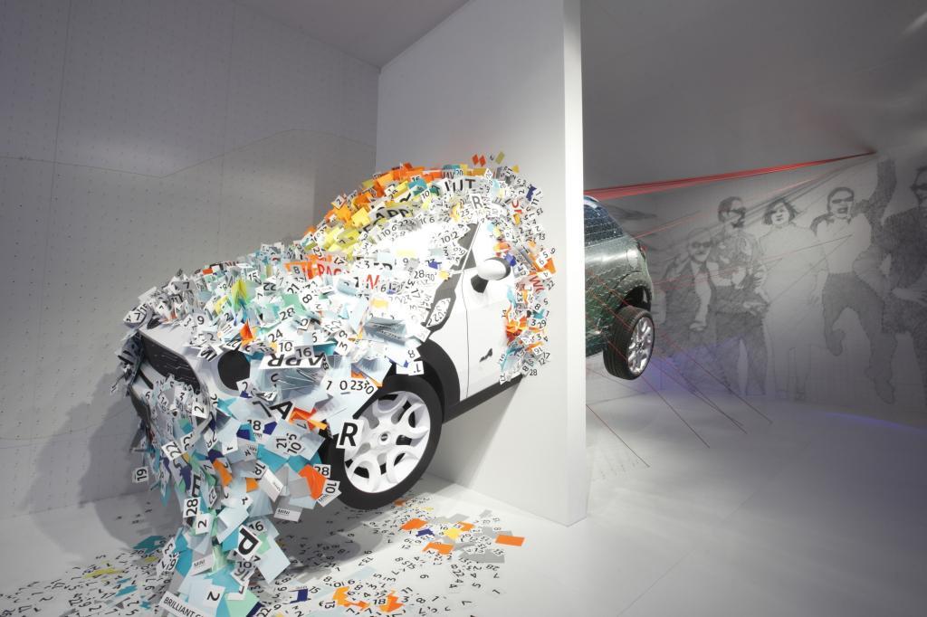 Autohersteller auf der Mailänder Möbelmesse