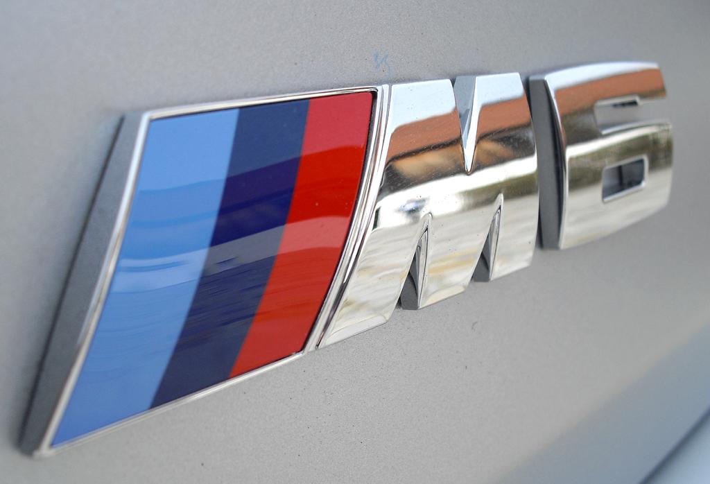 BMW M6 Gran Coupé: Modellschriftzug am Heck.